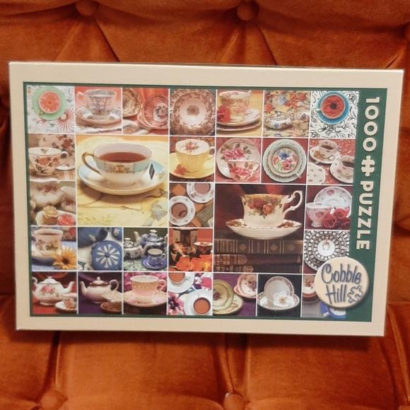 Teacup & Saucer 1000 Piece Puzzle